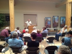 Novelist Tom McNeal at the 2012 Storycatcher Workhop