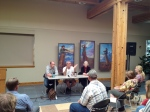 Writer's panel at the 2012 Storycatcher Workshop